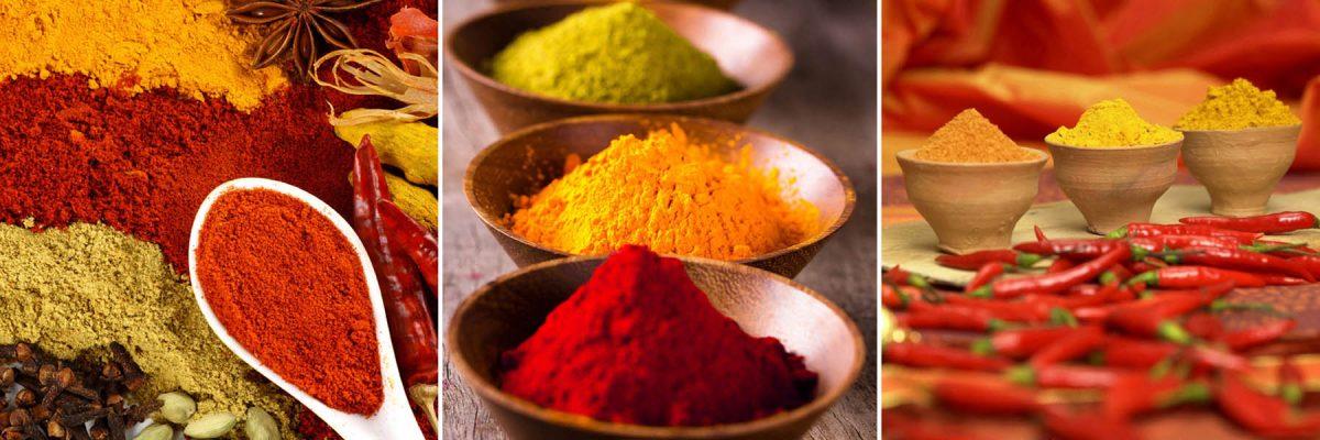Set 3 canvas 25×25 spices