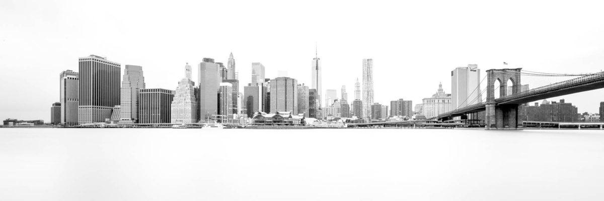 Canvas 50×150 ny skyline