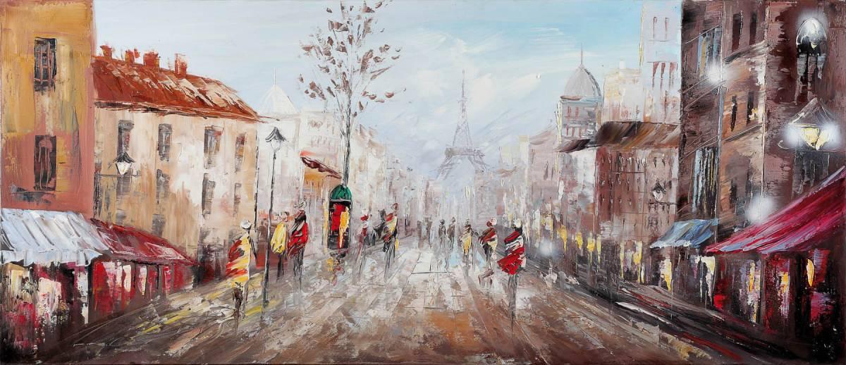 Dipinto art z134 65x150 original paintings landscape for Quadri bubola e naibo