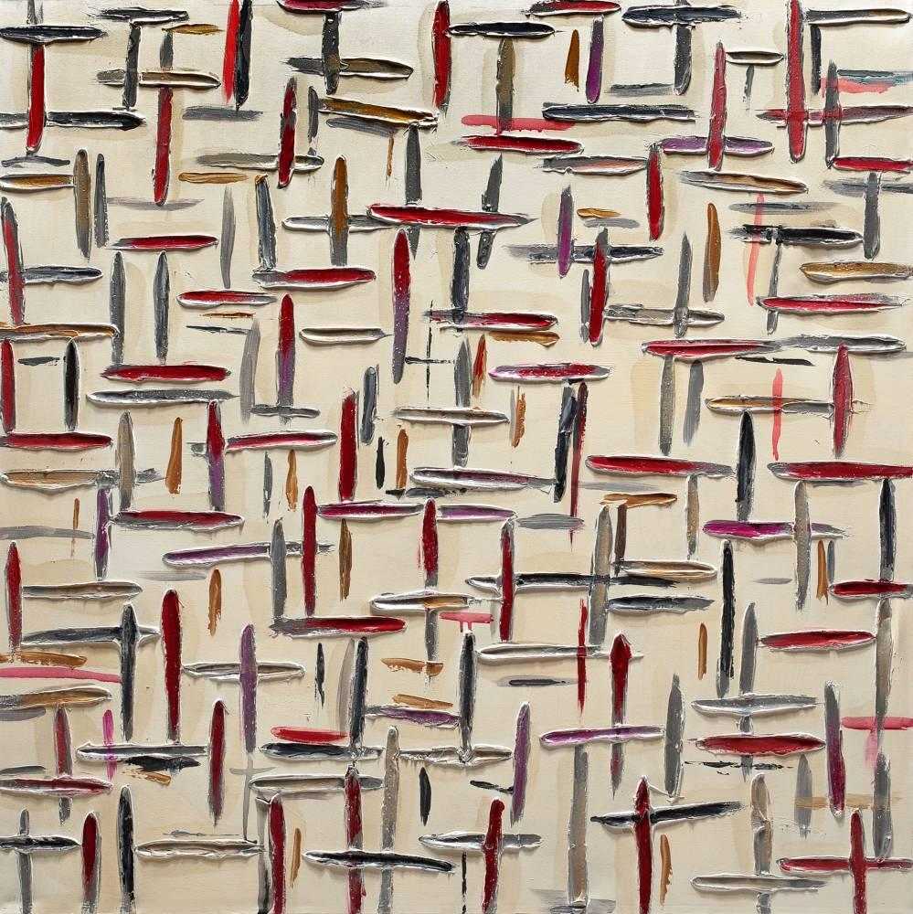 Dipinto art. z447 100×100