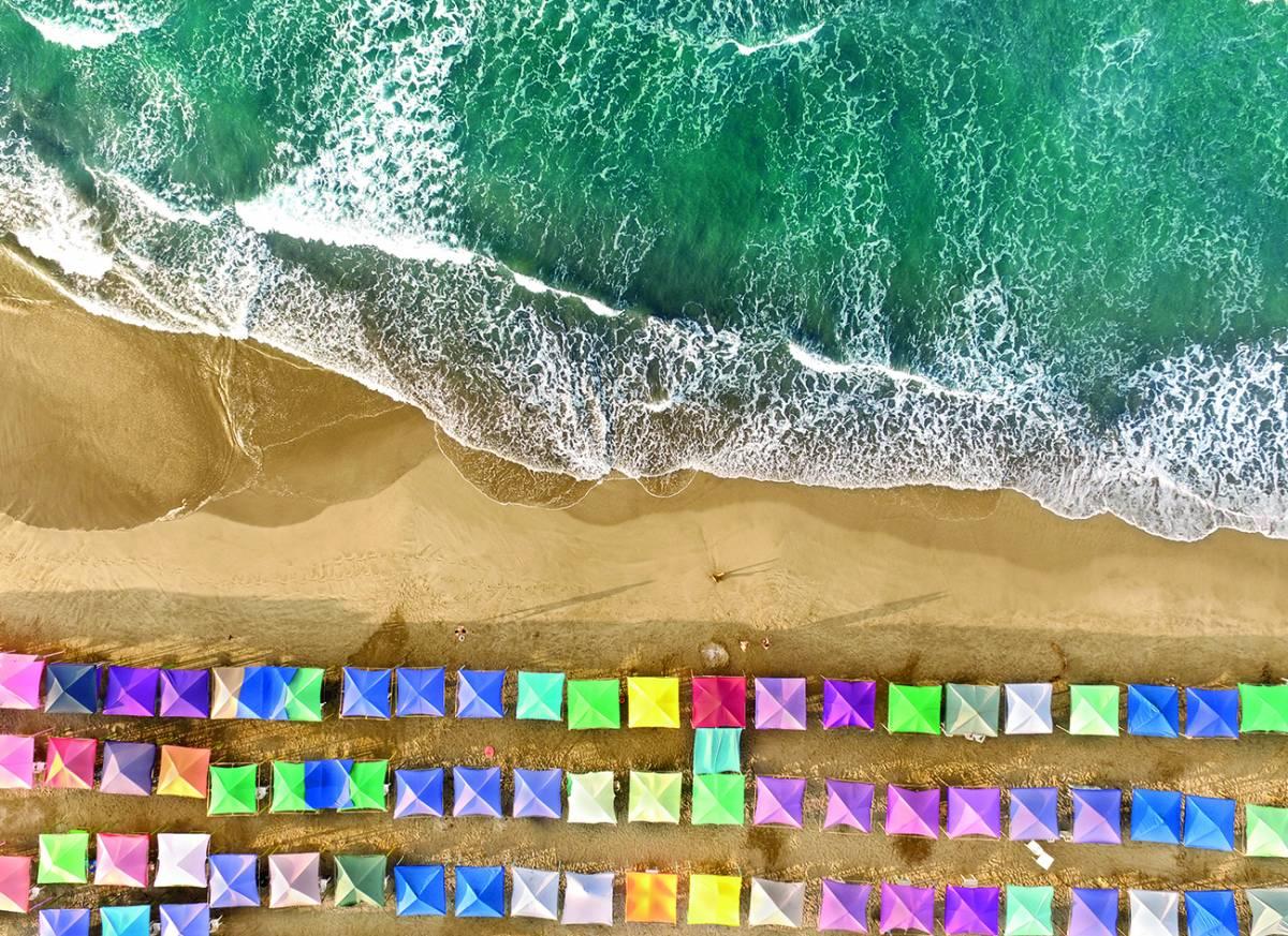 Canvas 0263 80×110 beach view