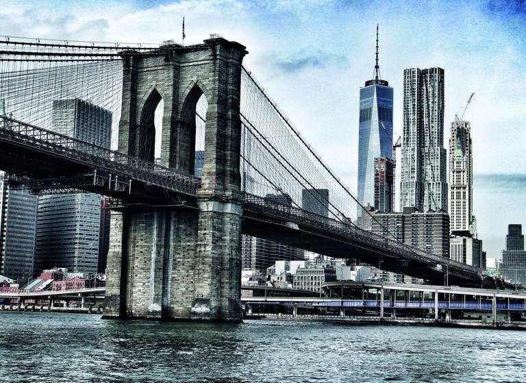 Canvas 0277 80×110 brooklyn bridge