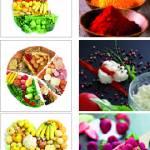 Canvas mixe 6  25×25 food
