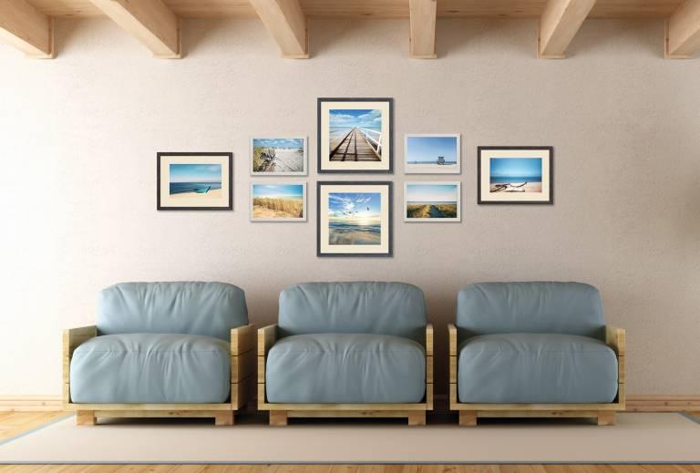 Set cornici 6375/mi c/st.beach