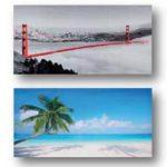 Canvas misti/b landscap 50×100
