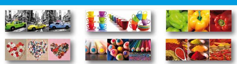 Set 3 canvas/a colors 30×60