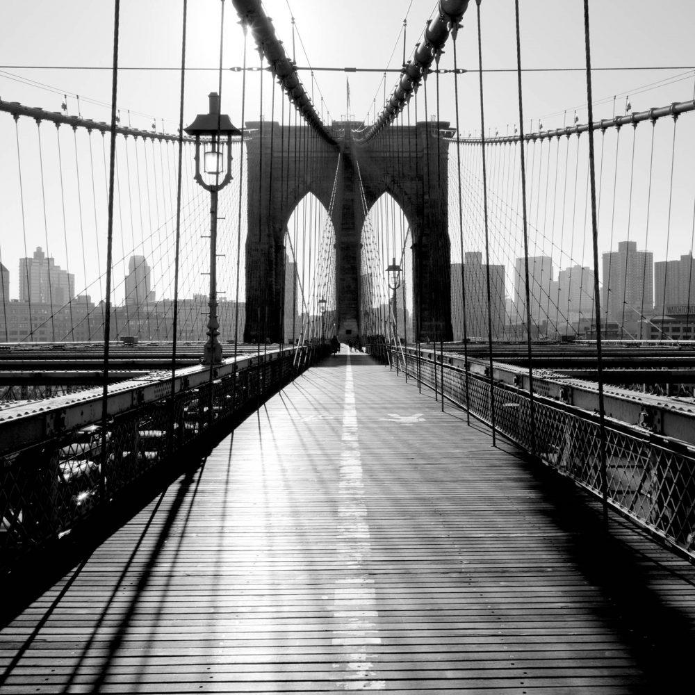 Canvas 40×40 new york
