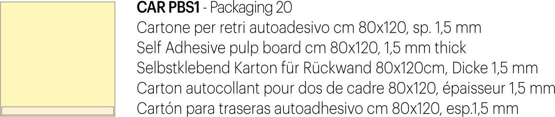 Cartone retro autoad. 80×120