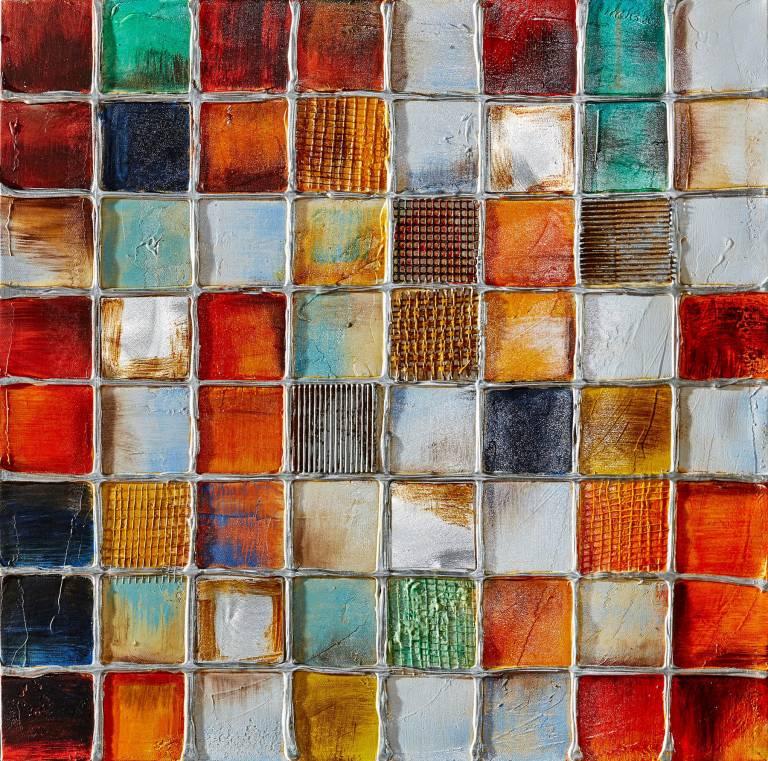 Dipinto art. z364 100×100