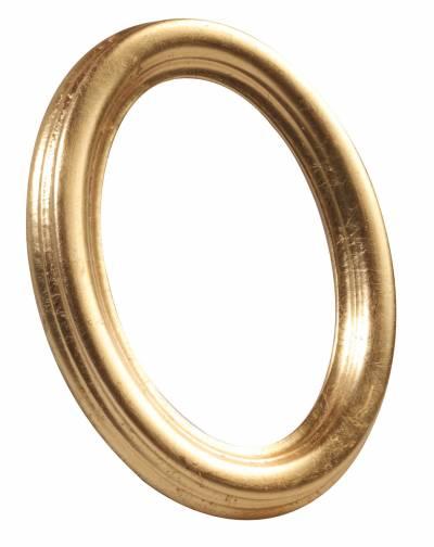 Cornice ovale oro 10x15