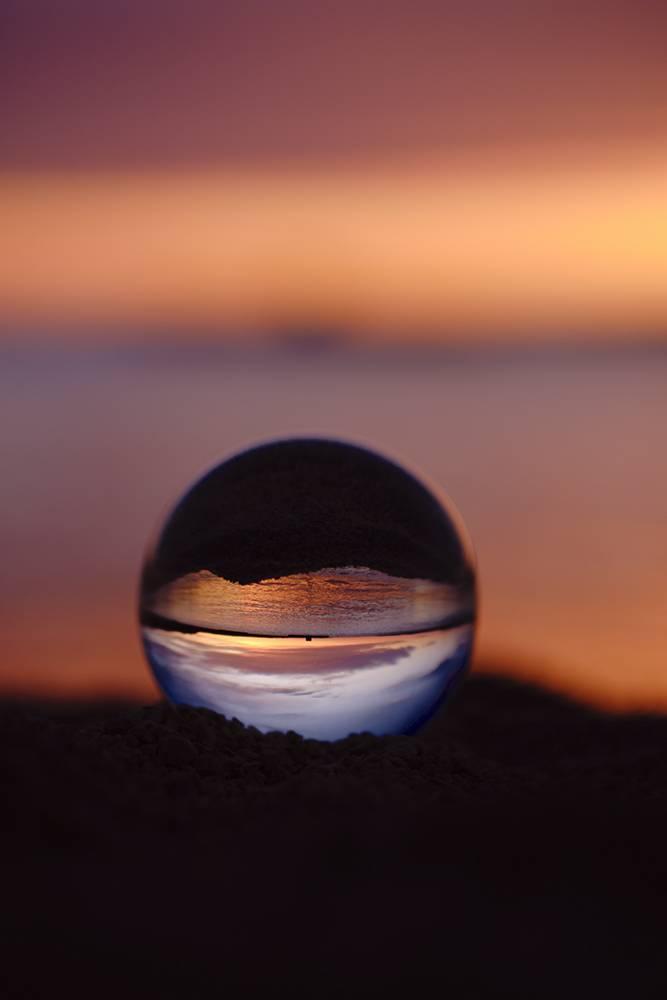 Glossy/ls04 100×150 blue lens ball